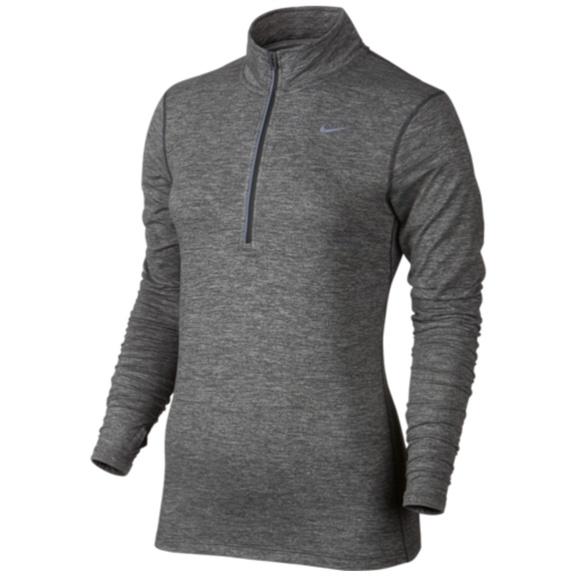 7427b504b618d Nike Element Half-Zip Women s Long Sleeve Top